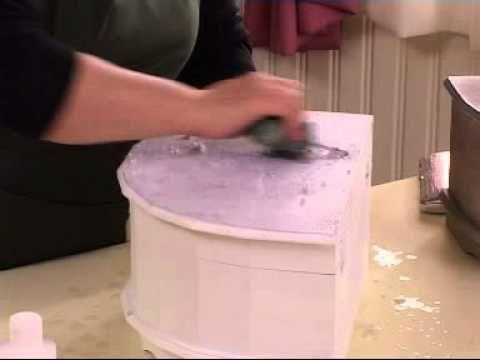 ▶ Transfer tekniği Ahşap boyama efektleri - YouTube