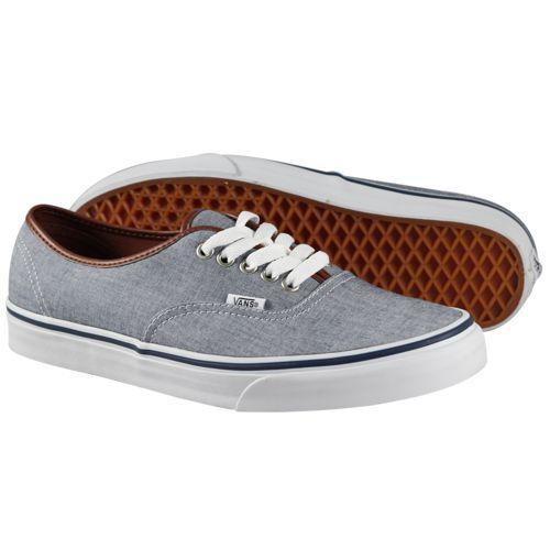 Vans - Authentic Shoes (Oxford/Leather) Blue