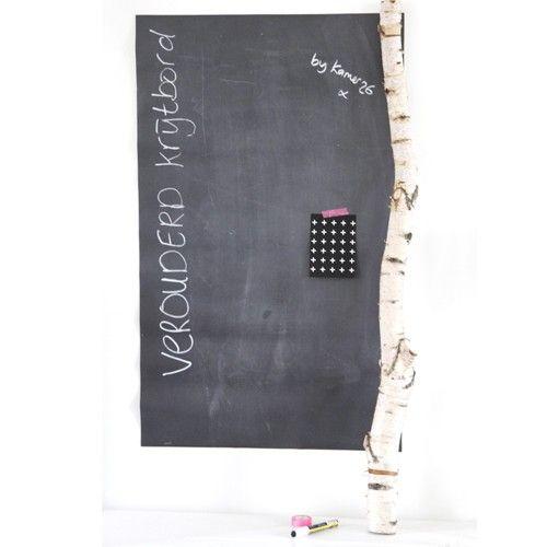 Magnetisch Krijtbord Keuken : Magneet_krijtbordbehang