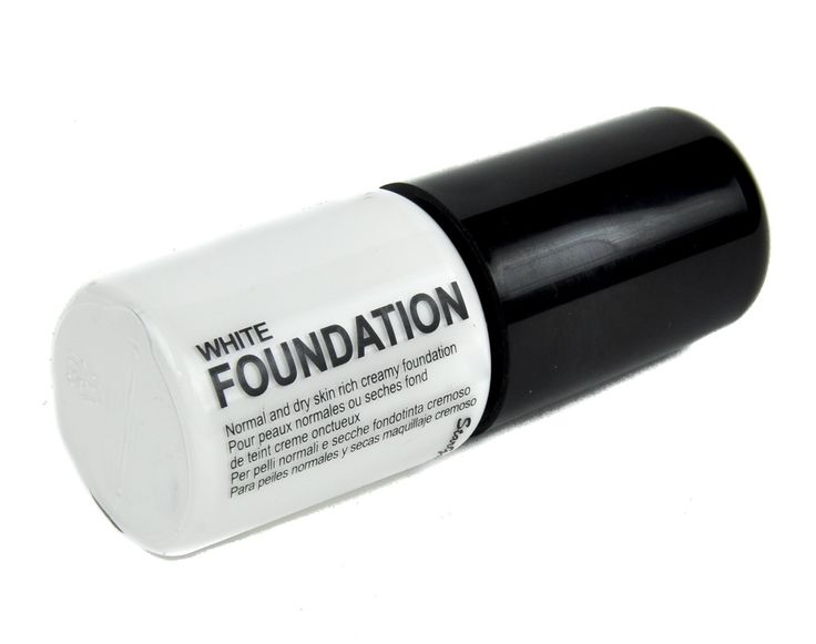 Ghostly White Gothic Foundation Liquid Cosplay Face Makeup