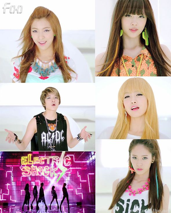 70 best KPOP ALBUMS :D images on Pinterest | Packaging ... F(x) Electric Shock Album Cover