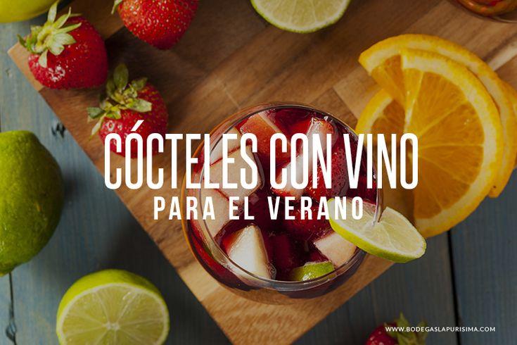 Cócteles elaborados con vino para el verano. - http://www.bodegaslapurisima.com/cocteles-elaborados-con-vino-para-el-verano/  Con las altas temperaturas todos necesitamos refrescarnos y en una cena entre amigos o familia, no puede faltar un buen cóctel. Poco a poco el vino se ha ido abriendo paso en el mundo de la coctelería y hoy en día protagoniza un gran número de mezclas exóticas y exquisitas. Tanto el vino blanco ...  #Cócteles, #Verano, #Vinos