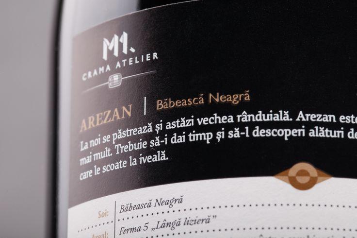 M1.Crama Atelier - Arezan Babeasca Neagra 2012.