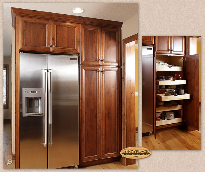 Kitchen Cabinets Around Fridge: 37 Best Images About Showplace Kitchen Cabinetry On