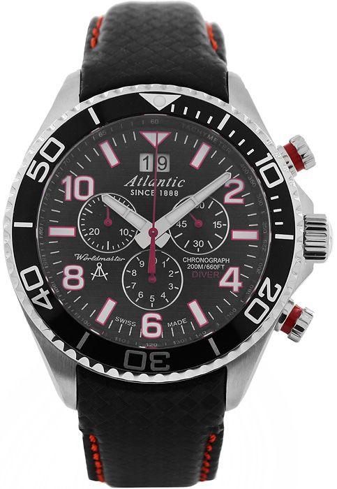 Zegarek męski Atlantic Worldmaster 55470.47.65RC - sklep internetowy www.zegarek.net