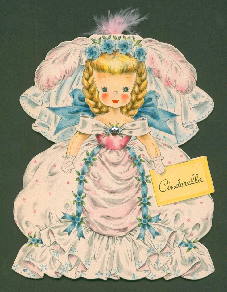 80 best vintage hallmark paper doll cards images on - Hallmark espana ...