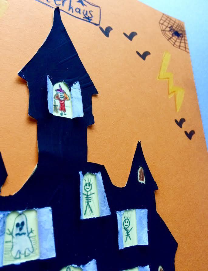 LUSTIGE HALLOWEEN IDEEN  ВЕСЕЛЫЕ ИДЕИ НА ХЭЛЛОУИН #kinder #kids #дети #basteln #diy #рисовать #malen #geisterhaus #hexenhäuschen #поделки