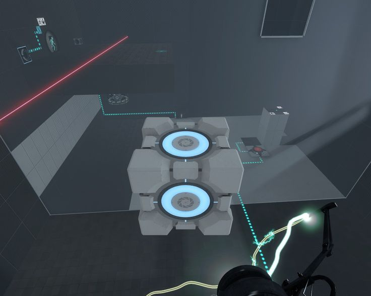 "Student reflection and final game walk through of original Portal2 game: ""Gone"" Download levels from Steam Workshop!"
