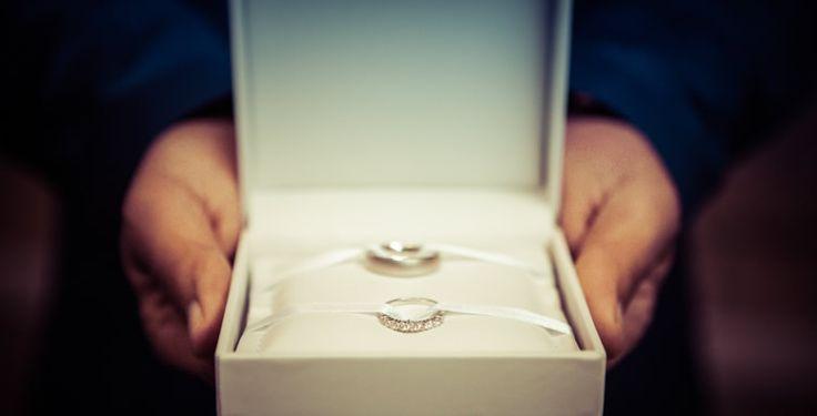 Weddingrings ! Ring box for wedding. schöne Ringe von einem Brautpaar - Hochzeitsfotos