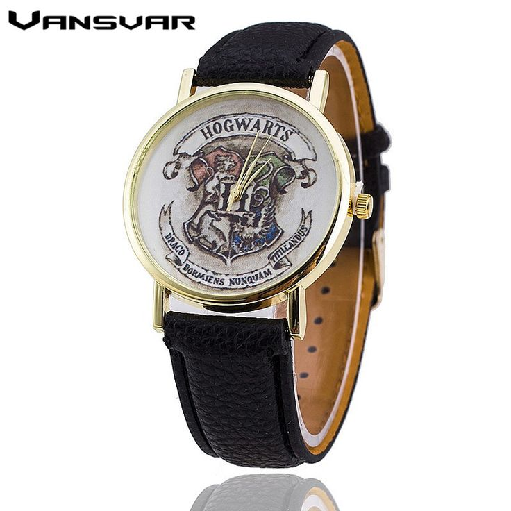 Vansvar Brand HOGWARTS Magic School Watches Fashion Women Wristwatch Casual Luxury Quartz Watches Relogio Feminino - envíos gratis en todo el mundo