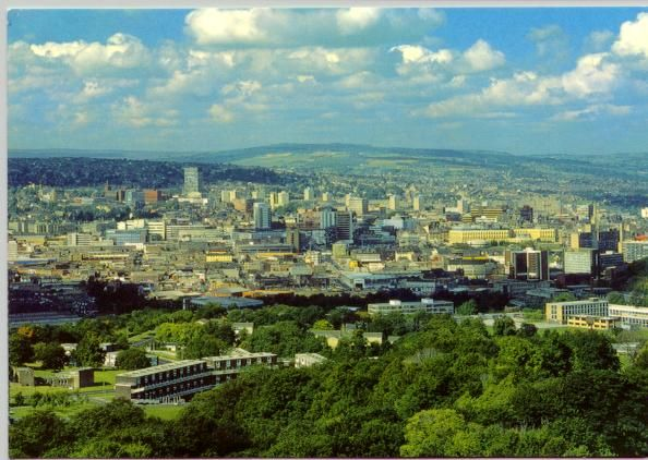 Sheffield, UK. The greenest city in Europe. My home city..