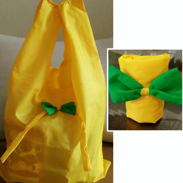 Folding shopping bag, bahan parasut anti air