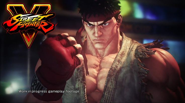 Street Fighter V - Gameplay Trailer.