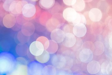 Blurred background, Abstract colorful bokeh light shape