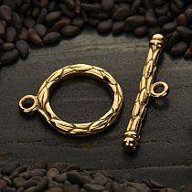 Natural Bronze Toggle Clasp