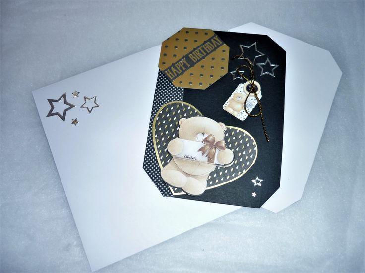 Carte d'anniversaire 3d faite main N°64 : Cartes par claradeco