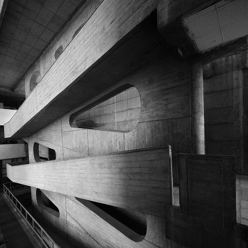 """Palace of Justice at Chandigarh"", by Le Corbusier (1952) #Brutalist #architecture"