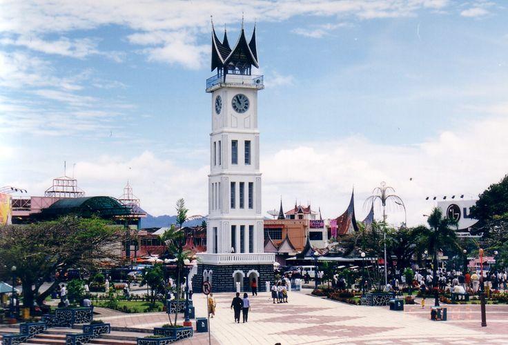 jam gadang in west sumatera, Indonesia