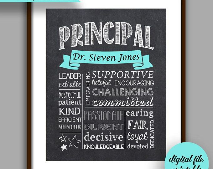 Printable 2021 Christmas Gift Manager Assistant Principal Gift Assistant Principal Chalkboard Style Etsy In 2021 Principal Gifts Unique Boss Gifts Manager Gift