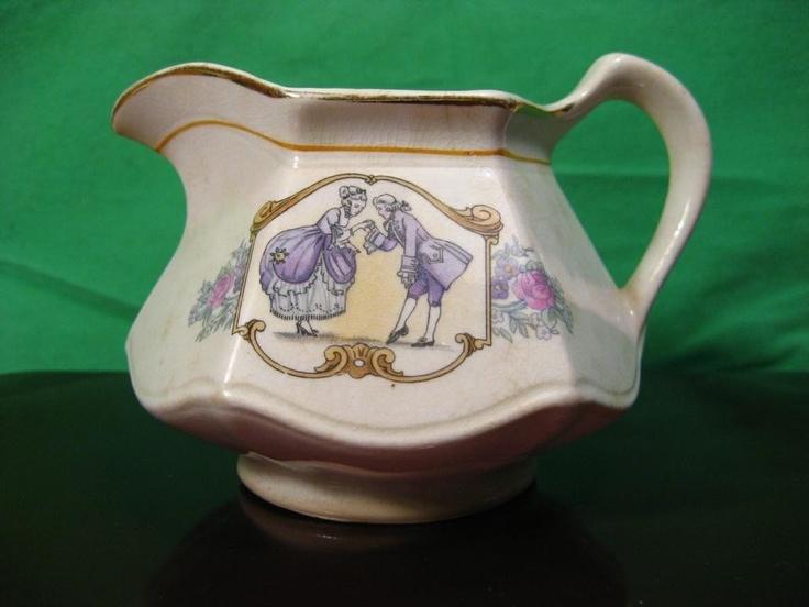 Vintage Cream Pitcher 3  by Salem China Century People22 Caret Gold Trim & 45 best Estate Sale u0026 Collectible Dishes images on Pinterest ...