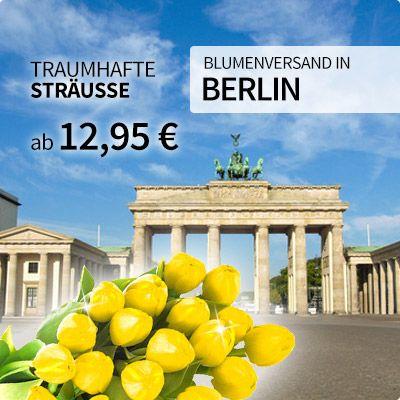 Blumenversand per Mausklick in Berlin unter http://blumen-verschenken.eu