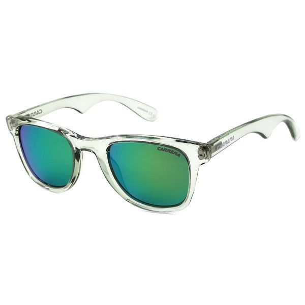 Carrera CARRERA 6000 2R3/Z9 Sunglasses ($84) ❤ liked on Polyvore featuring accessories, eyewear, sunglasses, green transparent, plastic glasses, green lens glasses, green lens sunglasses, green glasses and carrera sunglasses