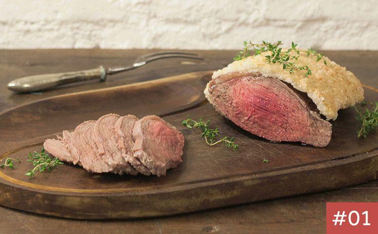 Picanha no sal grosso A carne, além de suculenta, fica com sabor incrível. Veja receita da Rita Lobo