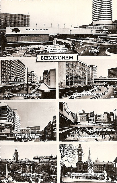 Birmingham in the 1960's by David_Turner, via Flickr Birmingham, UK #england #birmingham