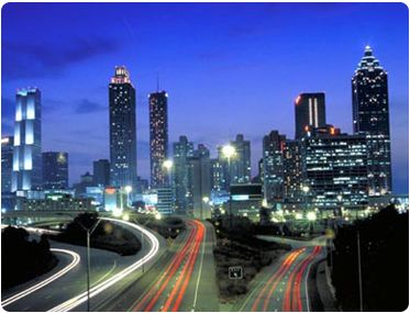 Atlanta: my future home in 2013.