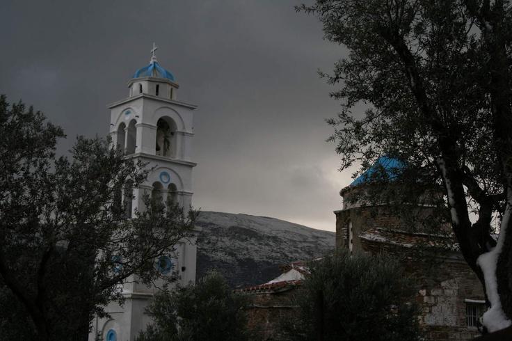 église à Andros