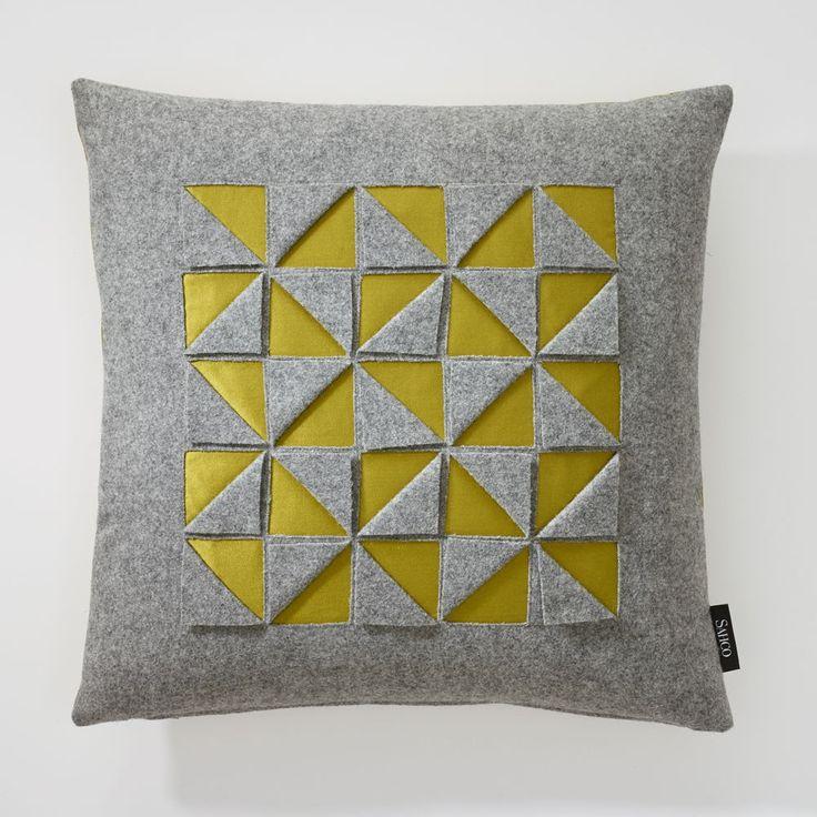 Satmento Cushion | Sahco (Farbe 03 - Kissen Vorderseite)