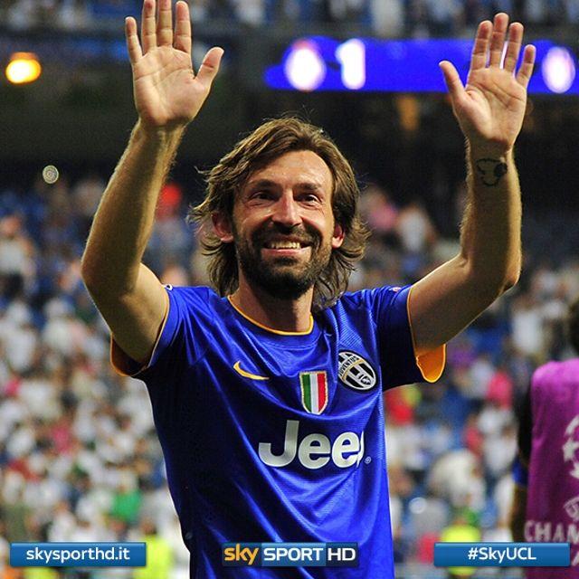 Andrea Pirlo conquista la 4ª finale di Champions in carriera