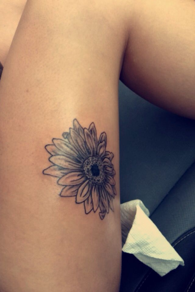 My tattoo. #sunflower