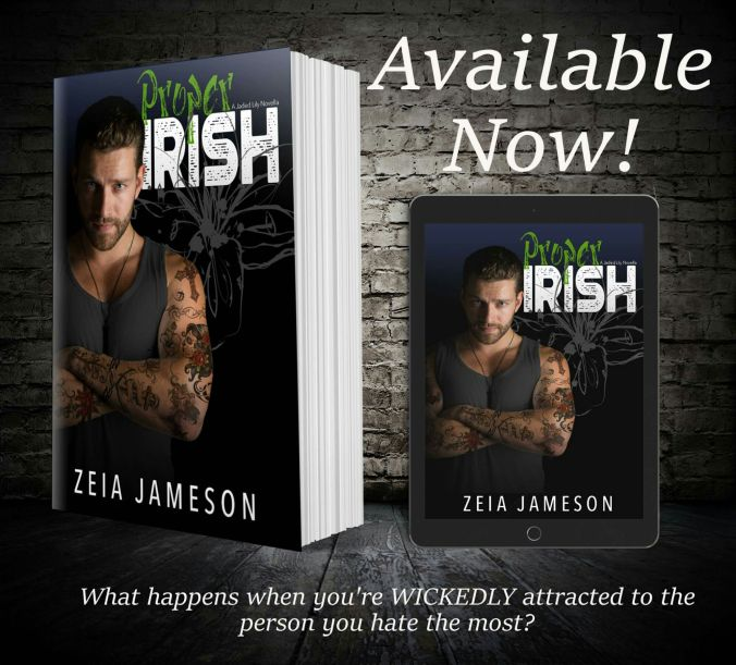 #ProperIrish is #LIVE and #99cents! #99pennies!  #Free on #KU! Amazon:http://ift.tt/2lLYlxN  Synopsis  Stella Rosencourt is the premier event coordinator of Savannahs elite. With her biggest event of the year ahead  the Mayors St. Patricks Day ball  she has little time for distractions. But the mysterious Padraig MacNamara and his lush Irish accent are definitely proving to be a distraction.  Padraig MacNamara is an inked enigma. A man of few words who crashes in the back room of the Jaded…