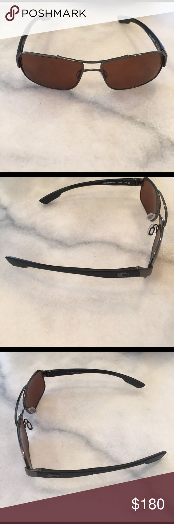 Costa Del Mar Tower Sunglasses Lightly used Costa glasses. In perfect condition! Polarized tower glasses! Link: https://www.costadelmar.com/us/en/women/sunglasses/view-all/tower/TO.html Costa Del Mar Accessories Sunglasses