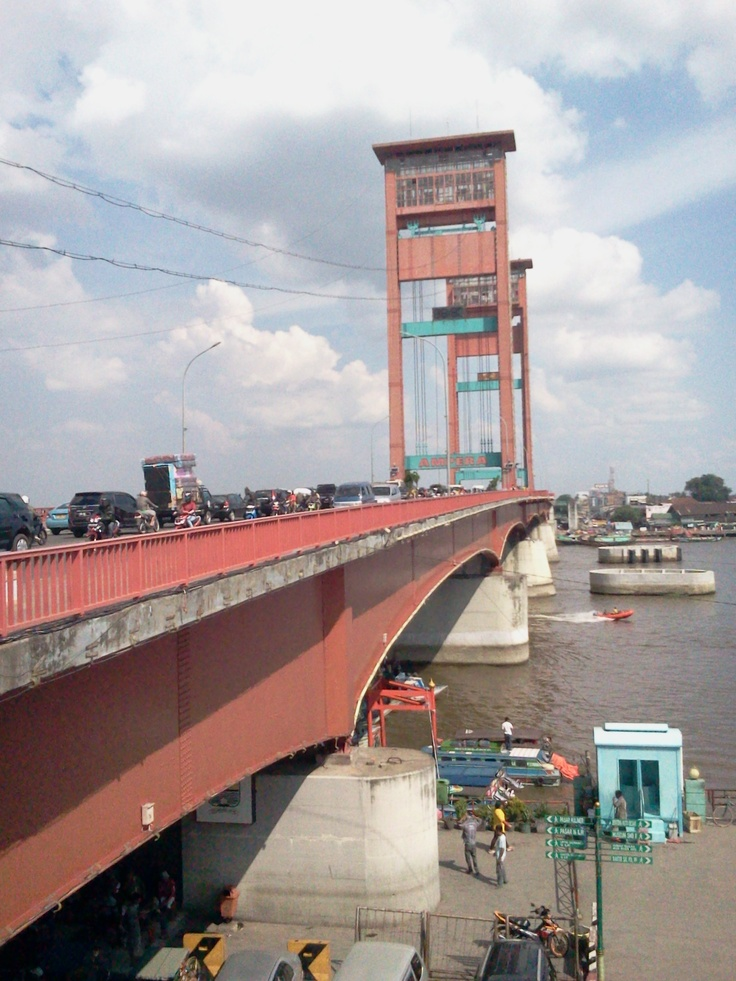 Ampera Bridge - Palembang, South Sumatera