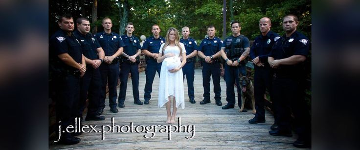 Police Killed on Duty 2016 | Officer Killed On Duty Honored by Police Force in Widow's Maternity ...