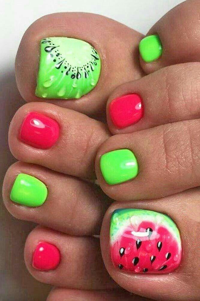 Mejores 7 imágenes de Uñas de pies en Pinterest | Diseño de uñas ...