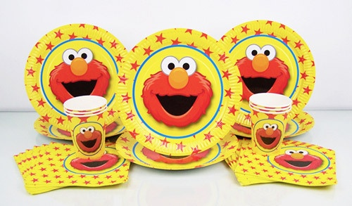 Elmo Basic Party in the Box  $9.95 caters for 6 guests