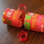 Make your own traditional English Christmas crackers