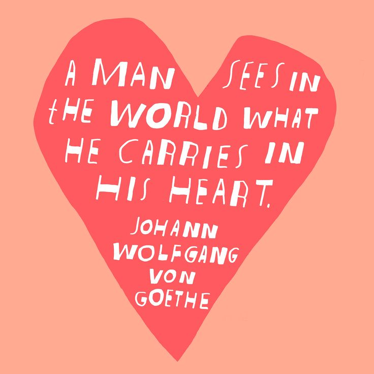 A man sees in the world what he carries in his heart // Lisa Congdon #quote #travel #inspiration #LisaCongdon
