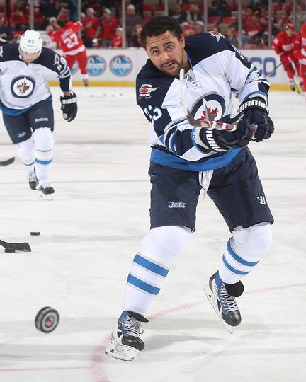 Dustin Byfuglien #33 Winnipeg Jets