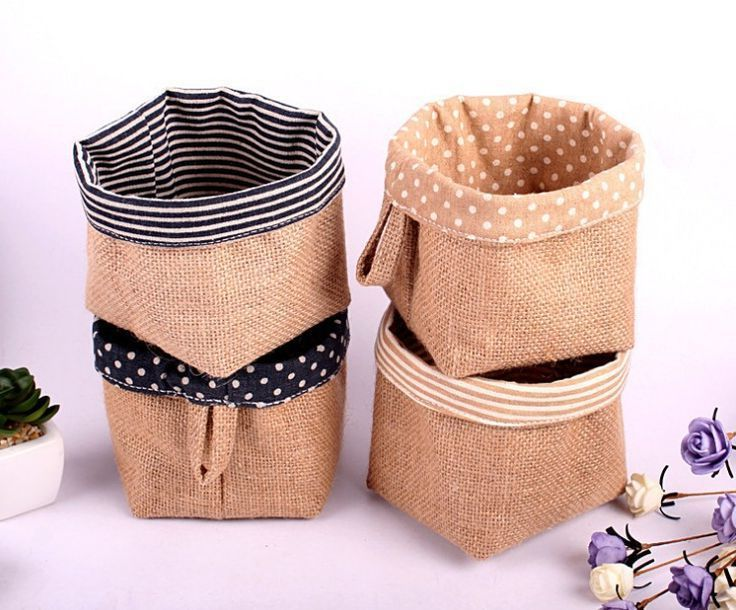 brotkorb n hen mit einfacher diy anleitung so wird s gemacht geschenke jute basket und burlap. Black Bedroom Furniture Sets. Home Design Ideas
