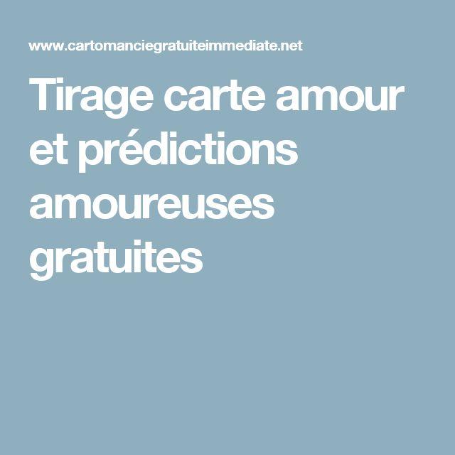 Tirage carte amour et prédictions amoureuses gratuites