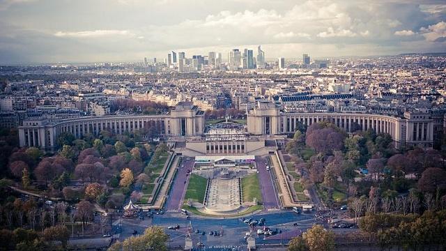 Paris vistas torre tour eiffel