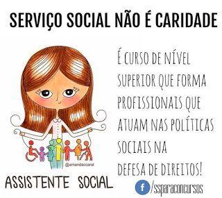 Blog da Assistente Social: A diferença entre Serviço Social e Assistencialism...