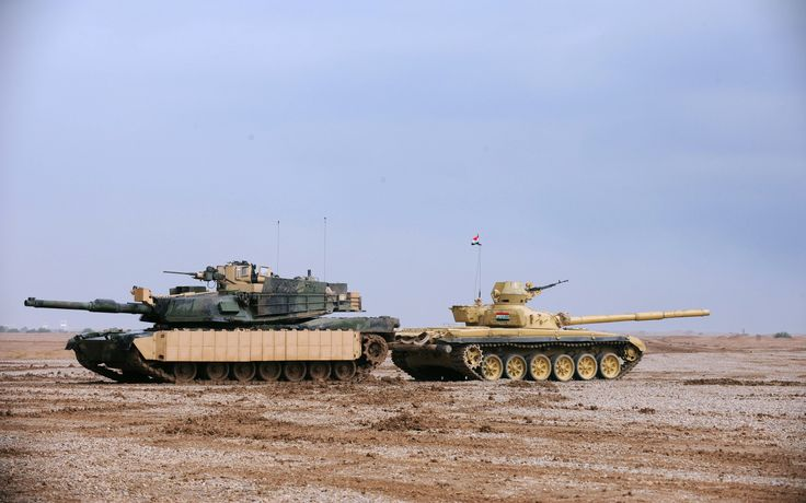 M1 and T-72