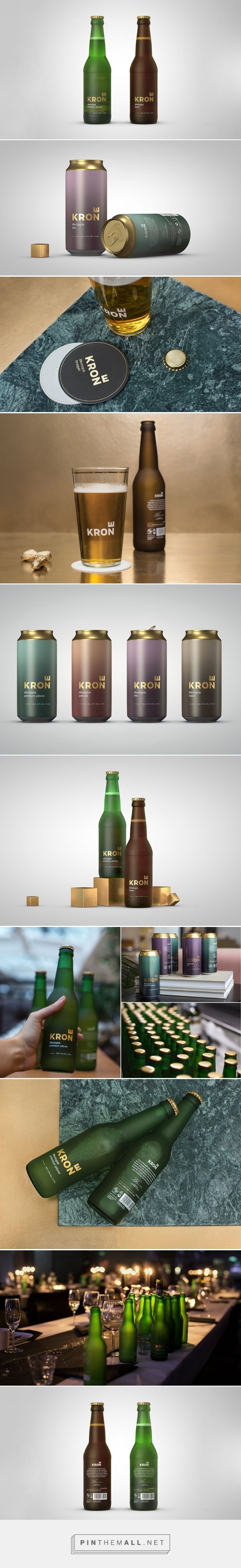 Krone Beer branding and packaging by Creuna