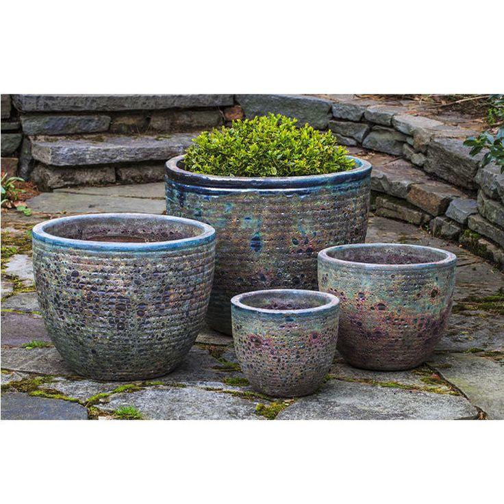 Kinsey Garden Decor Aspara Glazed Ceramic Indoor Outdoor 640 x 480