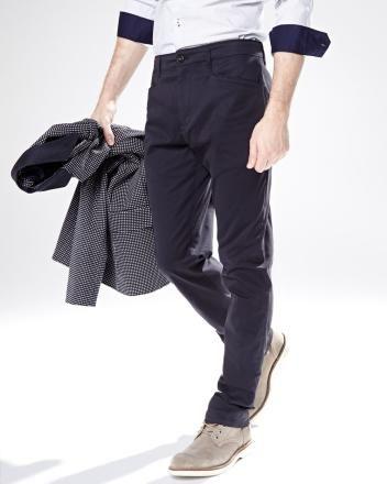 Pantalon chino coupe ajustée